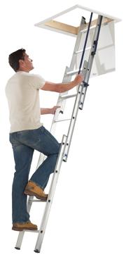 Aluminium Loft Ladder Cornwall