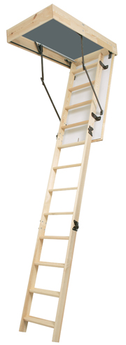 Wooden Loft Ladder Cornwall